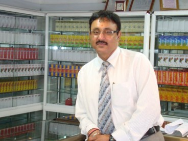 Harvinder Singh Alag, CEO of Zenufa Laboratories Ltd Photo Credit: RMH, IP-Watch)