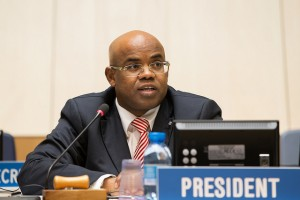 CDIP Chair Mohamed Siad Doualeh, ambassador of Djibouti