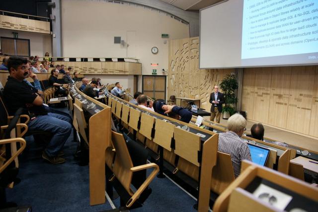 European Bioinformatics Institute's Steven Newhouse © CERN