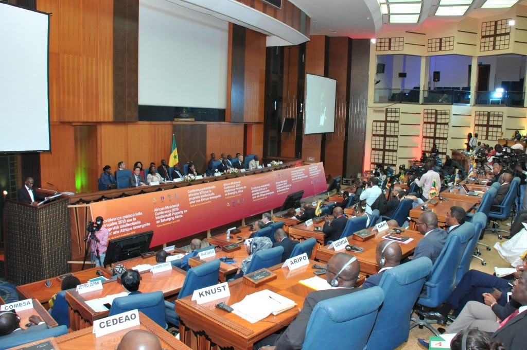 Opening panel of the WIPO African Ministerial Conference on IP