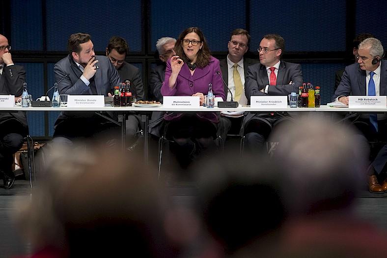 EU Trade Commissioner Malmstroem