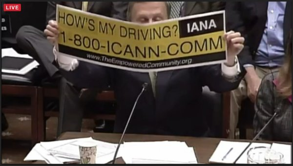 ICANN hearing Mar 2016