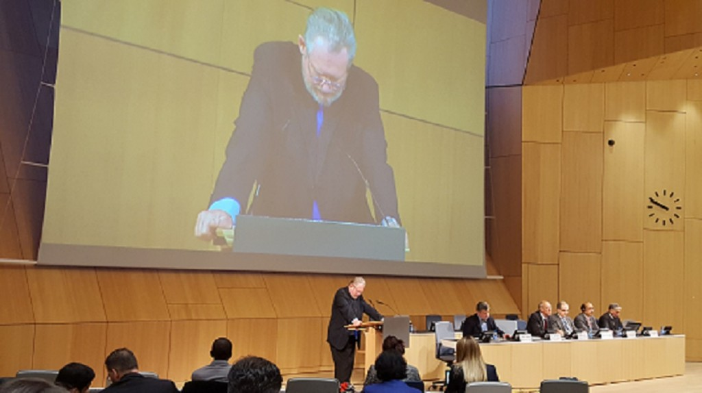 South African Trade Minister Rob Davies addresses WIPO Conference