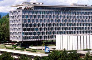WHO Headquarter in Geneva, Switzerland. Copyright : WHO/Pierre Virot