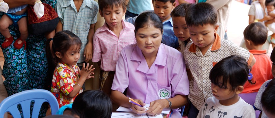 Abbott Fund and Direct Relief project at Angkor Hospital for Children