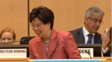 World Health Organization Director General Margaret Chan