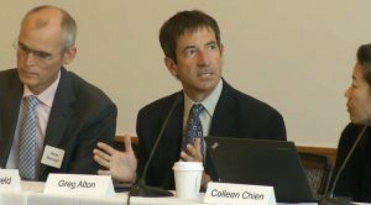 Greg Alton, executive vice president for Gilead Sciences