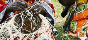 Women making Kiondo, a traditional Kenyan basket whose patent remains mystery. Photo Courtesy Craftafrika.