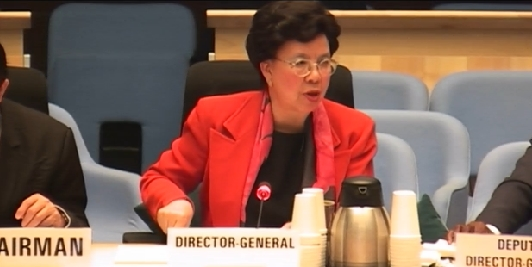 WHO Director General Margaret Chan