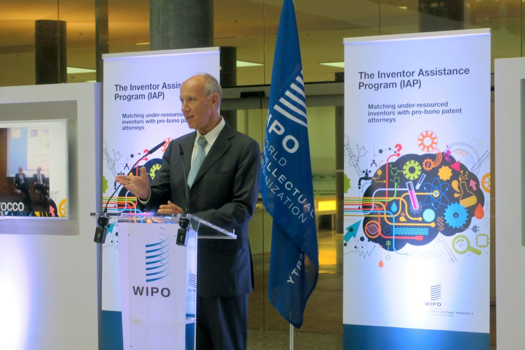 WIPO Director General Francis Gurry launches the IAP