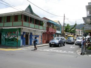 A street in the Dominica capital of Roseau. Will affordable medicines flow there?