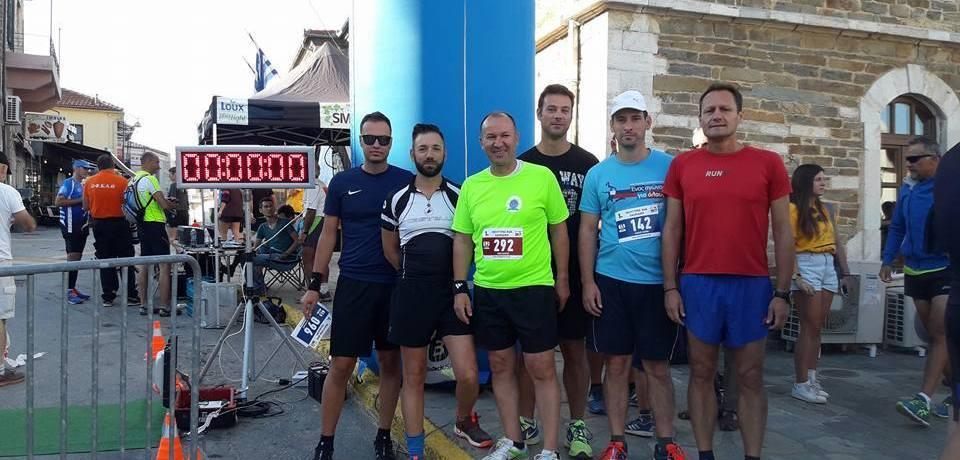 Διεξαγωγή 1ου αγώνα δρόμου run στον Πολύγυρο Χαλκιδικής
