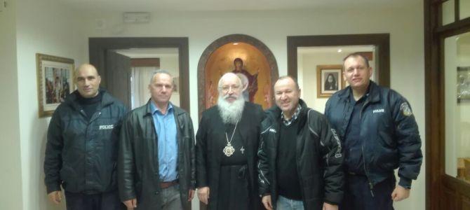 Συνάντηση με τον Σεβασμιώτατο Μητροπολίτη Κασσανδρείας κ.κ. Νικόδημο ενόψει Χριστουγέννων
