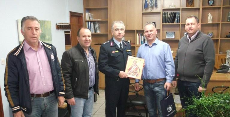 Εθιμοτυπική επίσκεψη IPA Τ.Δ Χαλκιδικής στον νέο Αστυνομικό Διευθυντή της Διεύθυνσης Αστυνομίας Χαλκιδικής