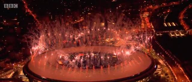 Summer Olympics online - The opening ceremony