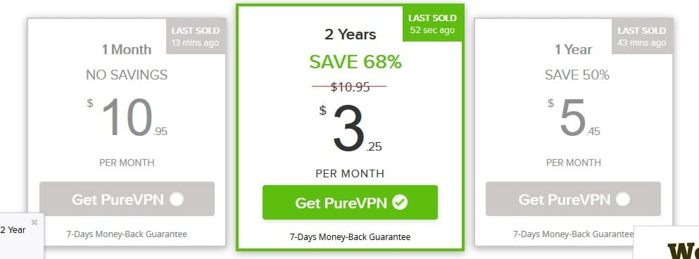 VPN two-year package