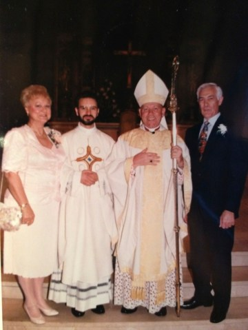 Ordination to the Priesthood on June 13, 1992