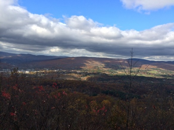 View from Eastern Summit Gift Shop Mohawk Trail