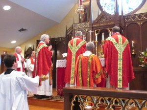Ad orientem - by whose authority?
