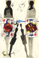 "Title: The Queen's Croquet GroundMedium: Heliogravure with Woodblock Size: 11.5"" x 17"" Reference #: ML No. 329 Year: 1969"