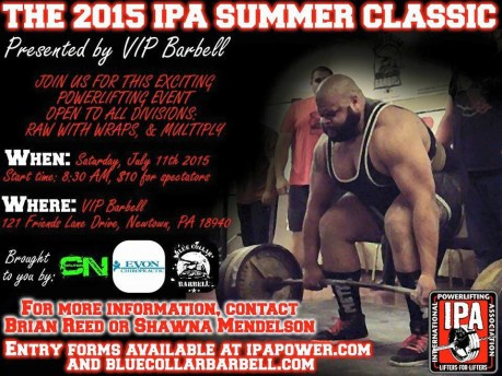 2015 VIP Summer Classic Flyer