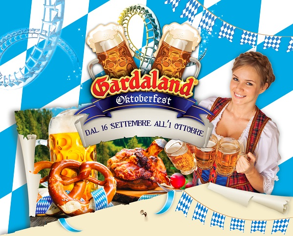 Dal 16 settembre al 1° ottobre 2017 aria di Oktoberfest a Gardaland