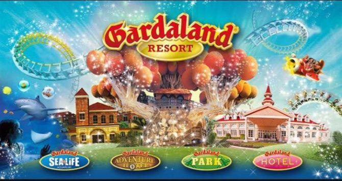 Gardaland il parco divertimenti piu grande e famoso d'Italia