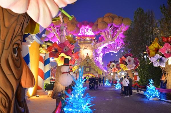 Torna Gardaland Magic Winter con il Magico Villaggio di Babbo Natale