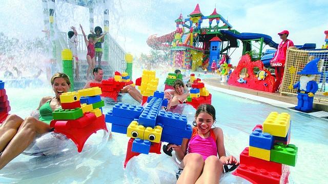 Il parco acquatico LEGOLAND Water Park di Dubai