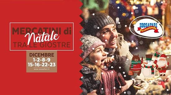 Nei weekend di dicembre ritornano i Mercatini di Natale allo ZooSafari
