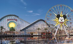 Lo spettacolare skyline di Disney California Adventure