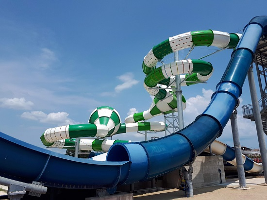 """Double Vortex"" la novità dell'Estate 2018 di Acquapark Ippocampo"
