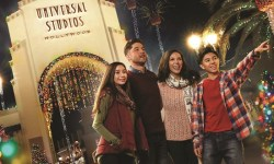 Tanti eventi e decorazioni per il Natale negli Universal Studios Hollywood di Los Angeles