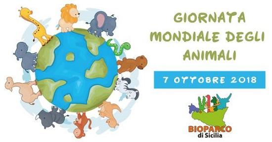 Il 7 ottobre Giornata Mondiale degli Animali al Bioparco di Sicilia