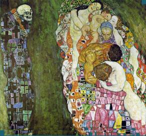 La vida y la muerte-Gustav Klimt