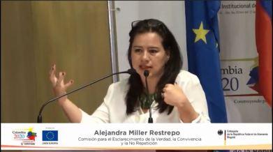Alejandra Miller Comision de la Verdad
