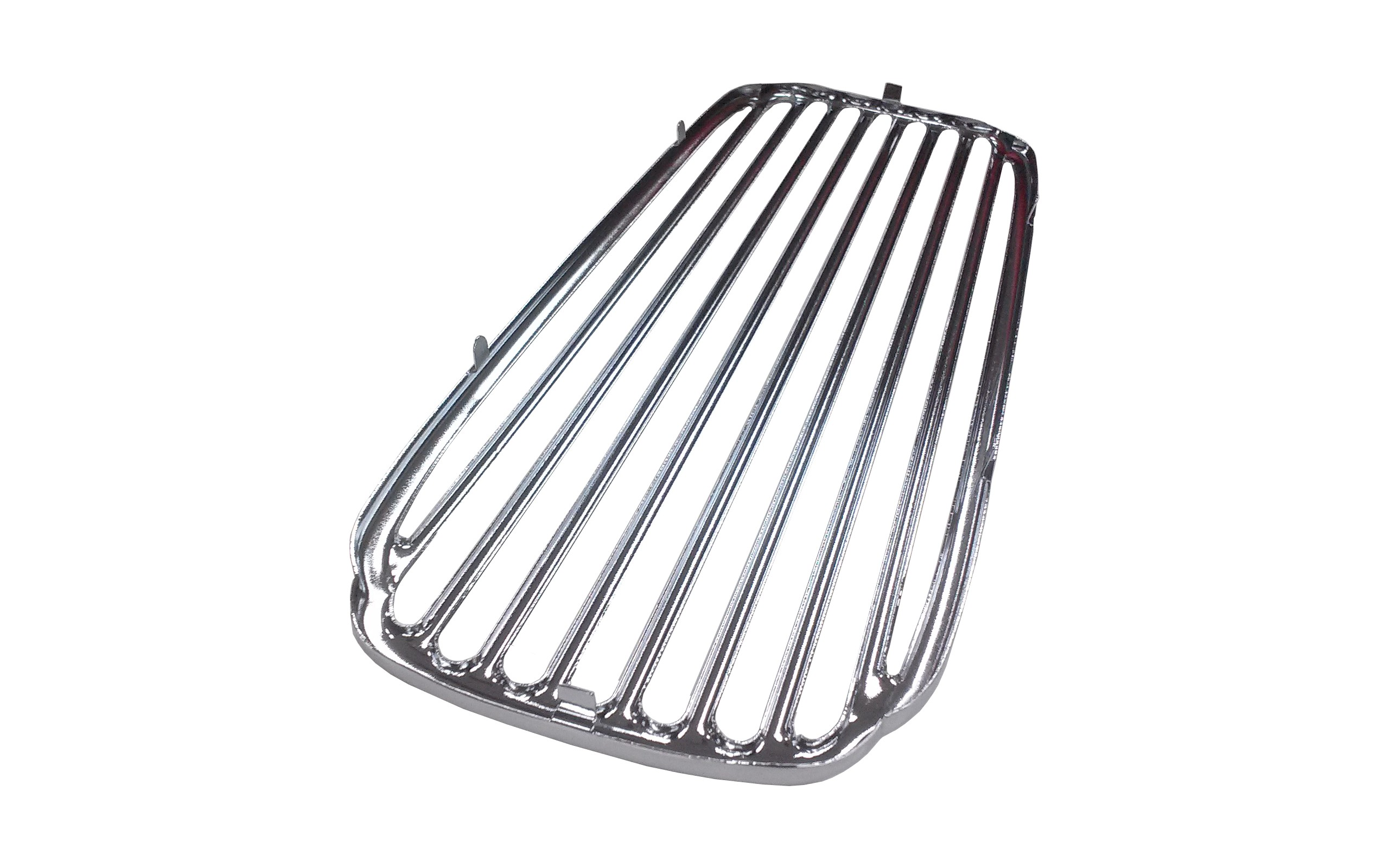 Vw Oval Dash Speaker Grill W Screen Chrome Fits Up To