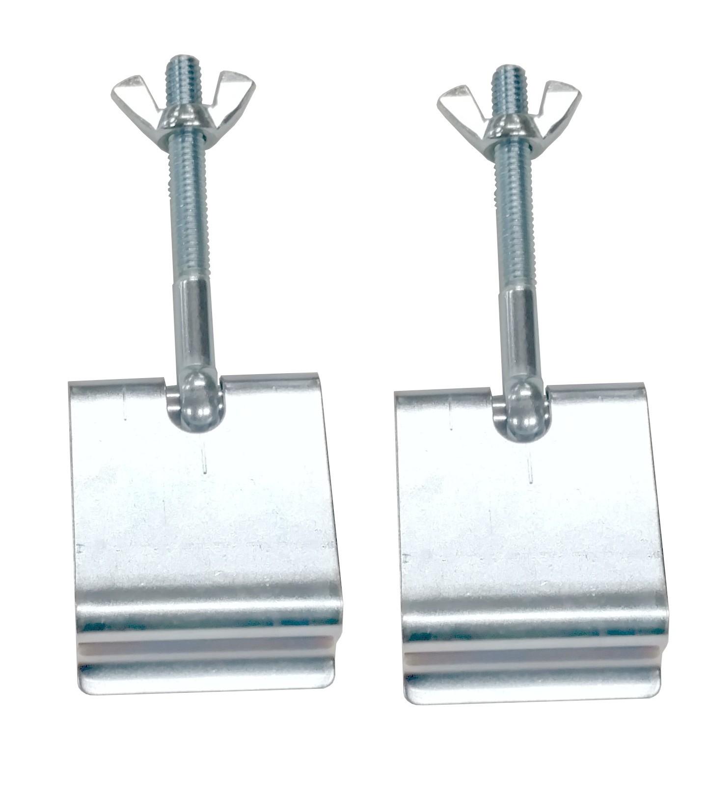 empi vw bug roof rack clamp kit i p c
