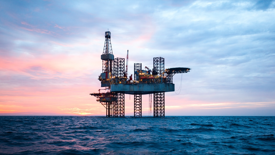 Drilling at Sea