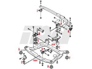 Volvo Engine Mount HUTCHINSON 112761 30778951 8683936
