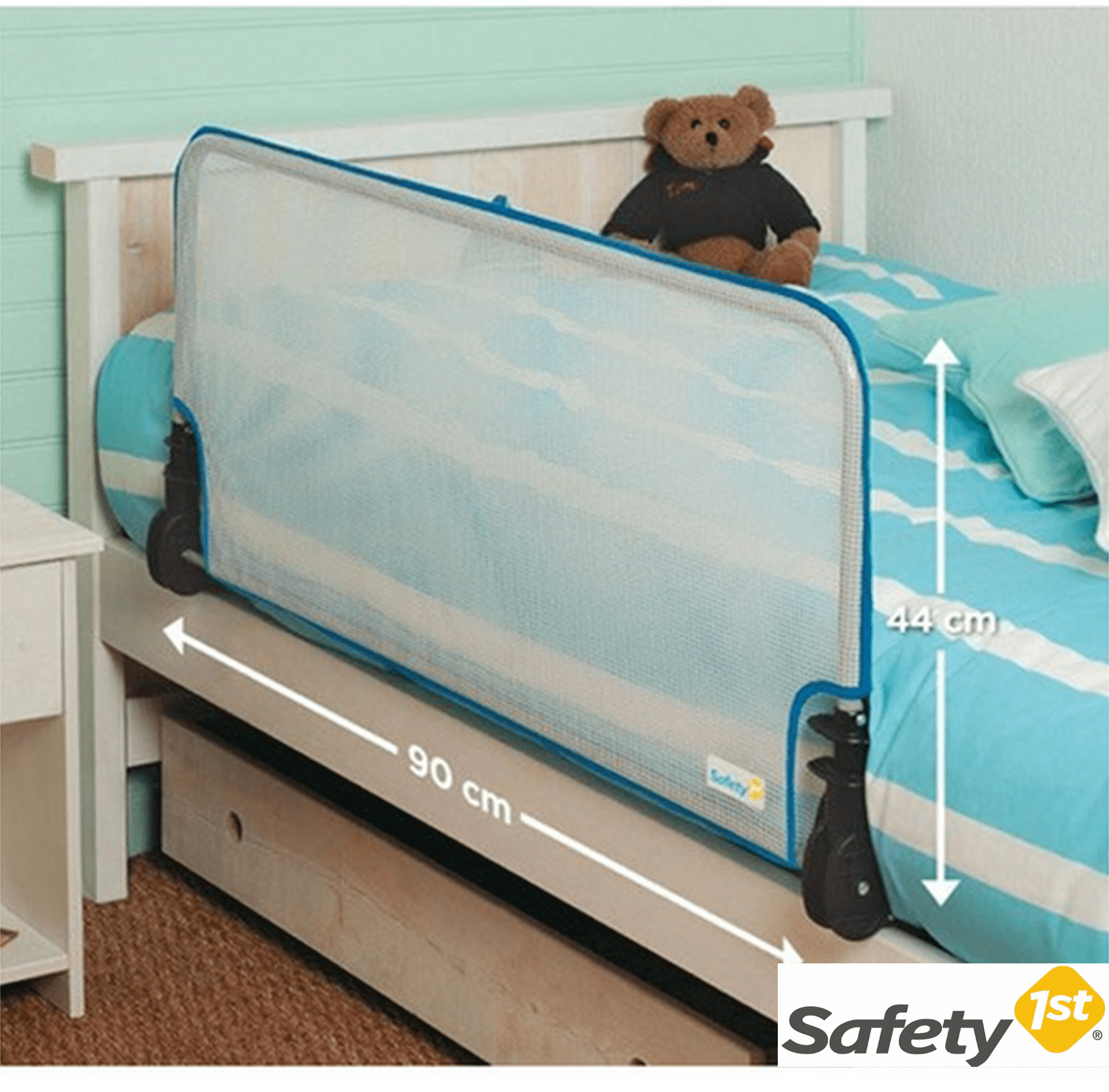Safety first barriera per letto iperbimbo - Barriera per letto singolo ...