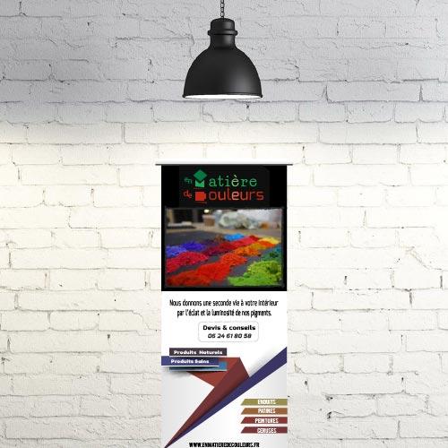 exemple de création d'affiche Grands Formats dans le Perche à Nogent le Rotrou