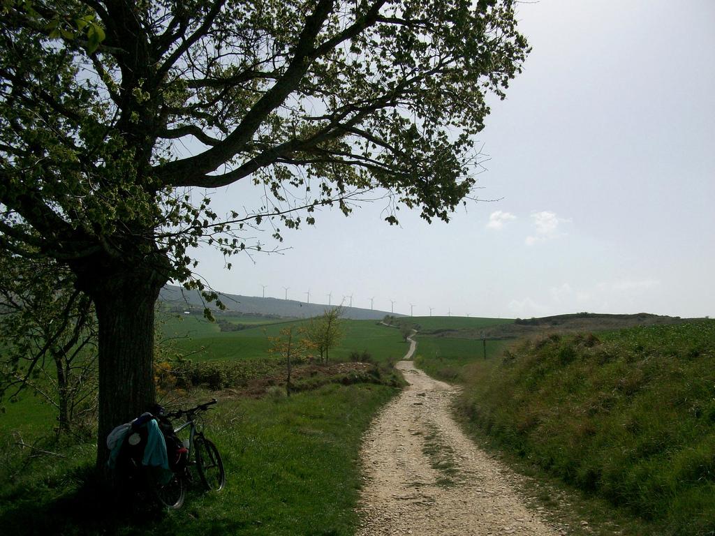 camino santiago en bici