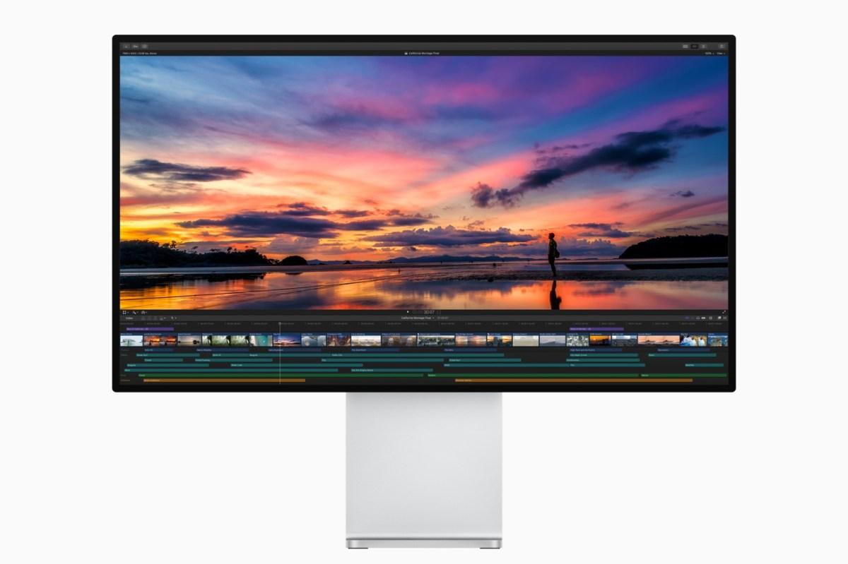 Apple Final Cut Pro X on Pro Display