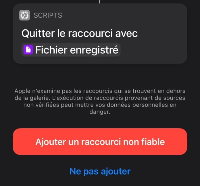 IOS shortcut download