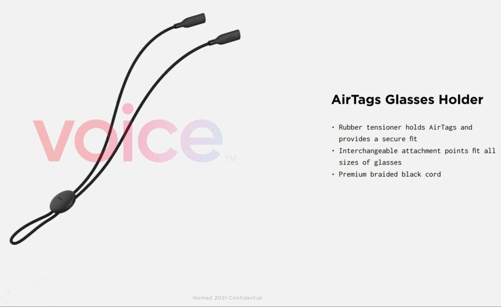 AirTags glasses holder