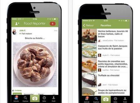 recettes de cuisine sur iphone et ipad