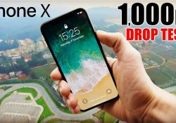 iPhone X 1000 Feet Drop Test