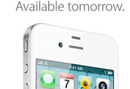 iPhone 4 in Weiss kommt morgen