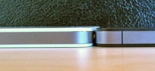 Das Weisse iPhone 4 ist dicker als das Schwarze, auch besser?